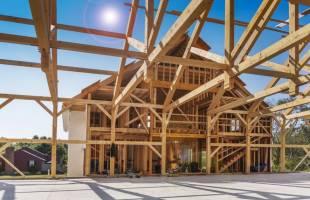 Faire construire sa maison avec la technique des poteaux-poutres
