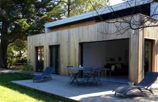 extension en bois - Barbara Steckers