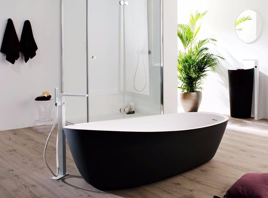 baignoire almond. Black Bedroom Furniture Sets. Home Design Ideas